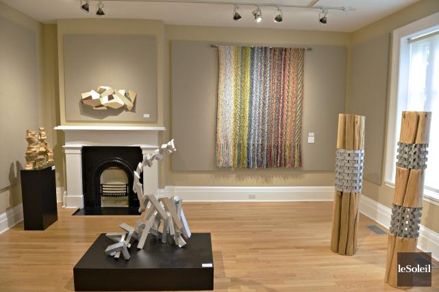 Cette salle contient des sculptures de Claudia Côté... (Le Soleil, Pascal Ratthé)