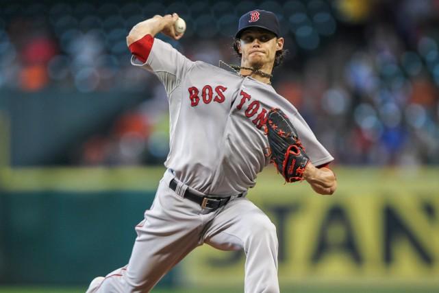 Clay Buchholz des Red Sox de Boston... (Photo Troy Taormina, USA TODAY Sports)