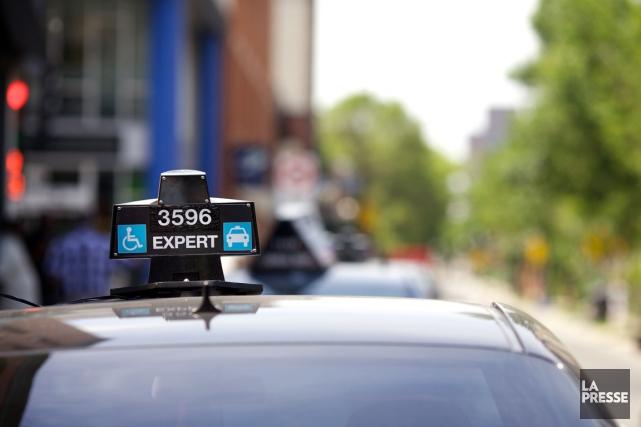 Uber est une plateforme technologique qui est en... (PHOTO SARAH MONGEAU-BIRKETT, ARCHIVES LA PRESSE)
