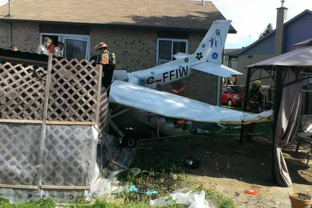 Une jeune apprentie pilote de 17 ans s'est... (Photo courtoisie)