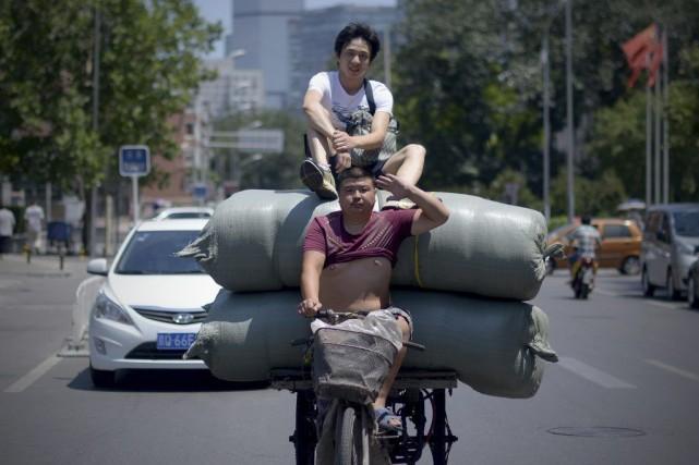 Sur les trois derniers mois (avril-juin), le produit... (PHOTO WANG ZHAO, ARCHIVES AFP)