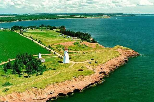 Le Phare de Seacow Head a été construit... (Photo fournie par le gouvernement de l'Île-du-Prince-Édouard)