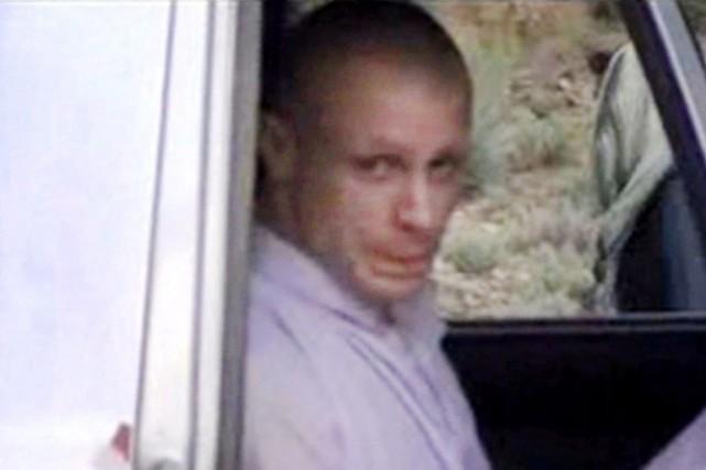 Le sergent Bowe Bergdahl, prisonnier des talibans en... (IMAGE ARCHIVES AP VIDEO)