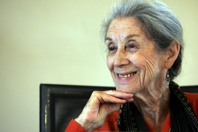 Nadine Gordimer en février 2005.... (Photo: archives Reuters)