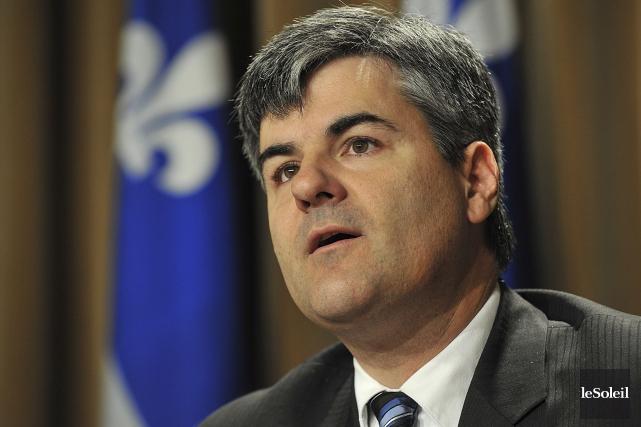 Le député caquiste Éric Caire s'interroge sur les... (Photothèque Le Soleil, Patrice Laroche)