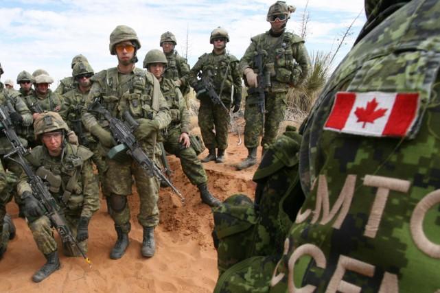 Les militaires participeront à un exercice d'entraînement avec... (Photo archives AP)