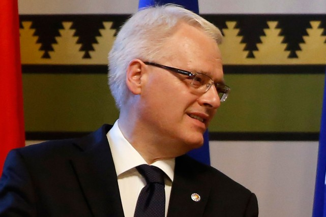 Le président croate Ivo Josipovic... (PHOTO ARCHIVES REUTERS)