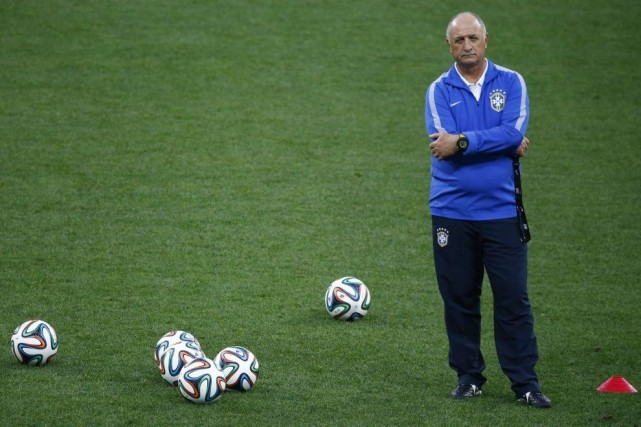 Luiz Felipe Scolari apeaufiné son profil d'entraîneur triomphal... (Photo: Reuters)