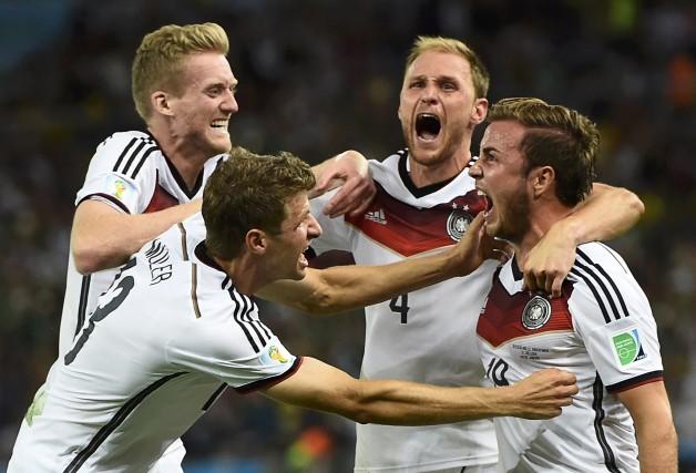 La victoire de l'Allemagne à la Coupe du... (Photo: Dylan Martinez, Reuters)
