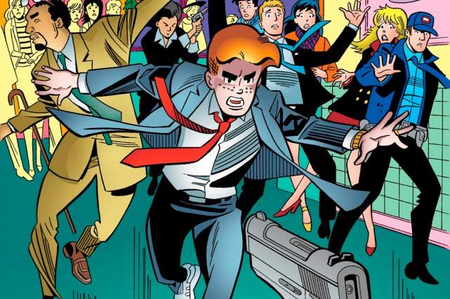 Archie «meurt comme il a vécu, en héros,... (PHOTO FOURNIE PAR ARCHIE COMICS)