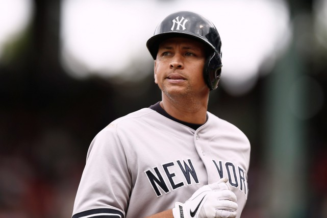 Le joueur vedette des Yankees de New York... (Photo Winslow Townson, Associated Press)