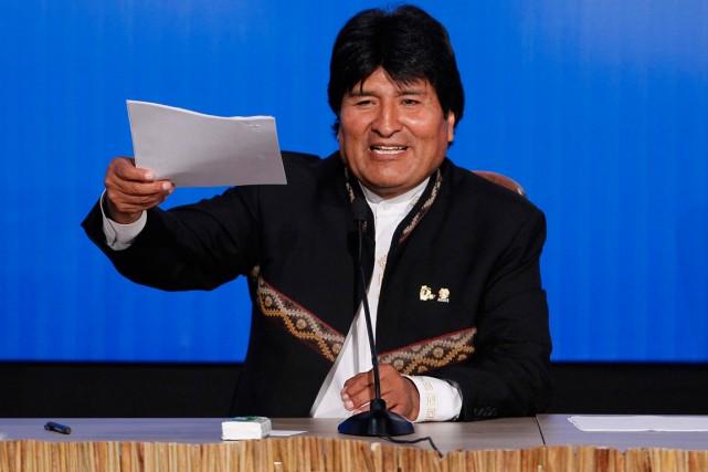 Evo Morales est déjà largement favori pour emporter... (Photo Enrique Castro-Mendivil, archives Reuters)