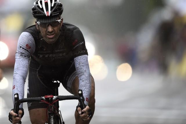 Fabian Cancellara... (Photo Lionel Bonaventure, AFP)
