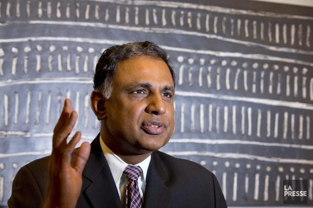 Lakshmanan Chidambaram, président de Tech Mahindra Amérique du... (Photo Alain Roberge, archives La Presse)