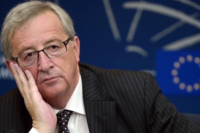 Jean-Claude Juncker, désigné le 27 juin par 26... (PHOTO FREDERICK FLORIN, AFP)