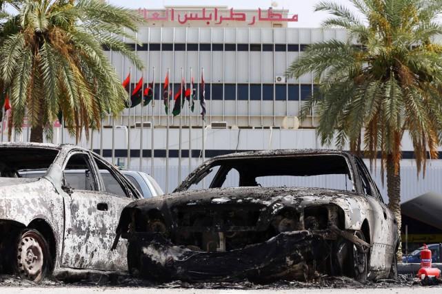 La dernière flambée de violences en date a... (PHOTO MAHMUD TURKIA, ARCHIVES AFP)