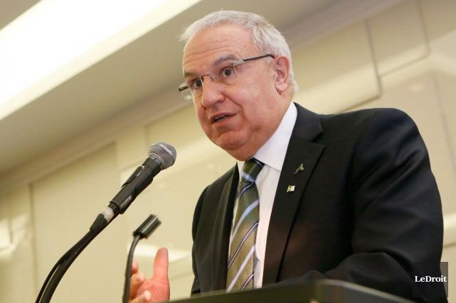Le président de l'AFO, Denis Vaillancourt.... (Simon Séguin-Bertrand, Archives Le Droit)