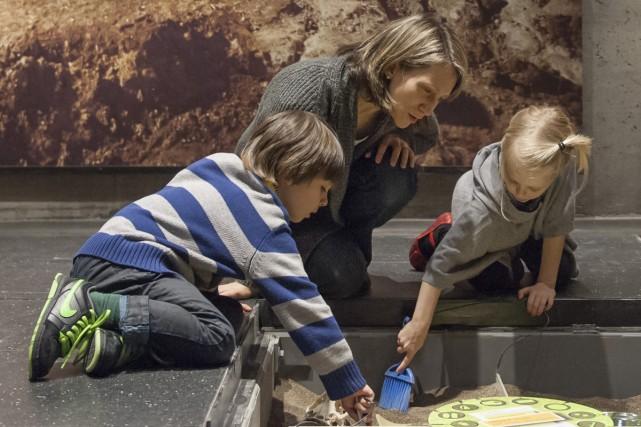 Avec Archéo-aventure, les jeunes de 9 à 12... (Photo: fournie par le Musée Pointe-à-Callière)