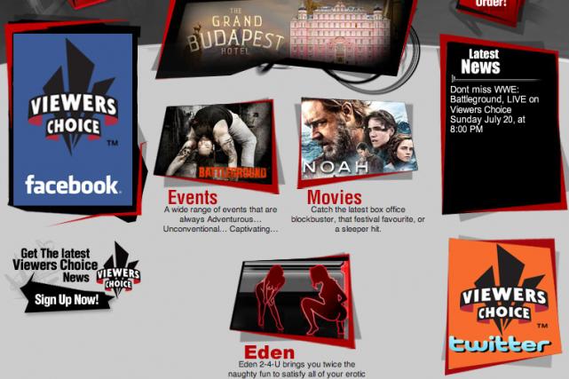 Les chaînes de Viewer's Choice ne seront plus... (Photo tirée du site web)