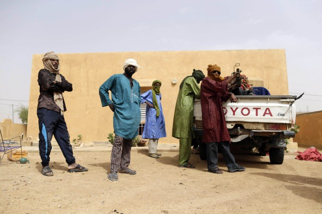 Soldats et policiers libérés avaient été capturés après... (Photo KENZO TRIBOUILLARD, Archives AFP)