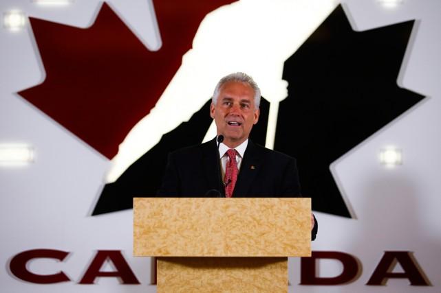 Le nouveau président et chef de la direction... (Photo Jeff McIntosh, PC)