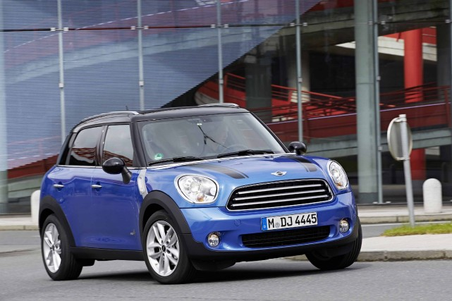 Mini Countryman... (Photo fournie par Mini)