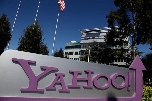 Le groupe internet américain Yahoo! (YHOO) a dépassé les... (PHOTO MARCIO JOSE SANCHEZ,  ARCHIVES AP)