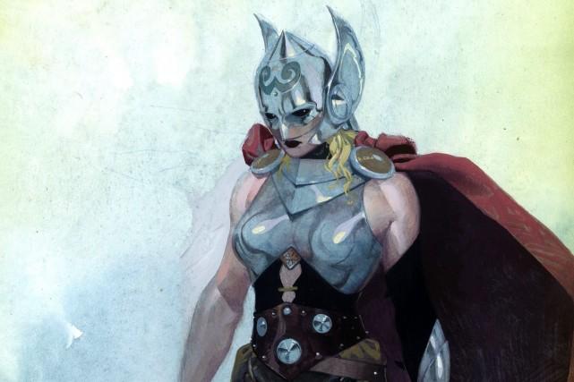 L'univers de Marvel a depuis toujours été dominé... (Photo Marvel Comics, AP)
