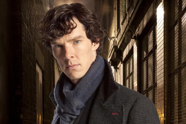 Sherlock Holmes est personnifié parBenedict Cumberbatch, dans une... (Photo fournie par PBS)