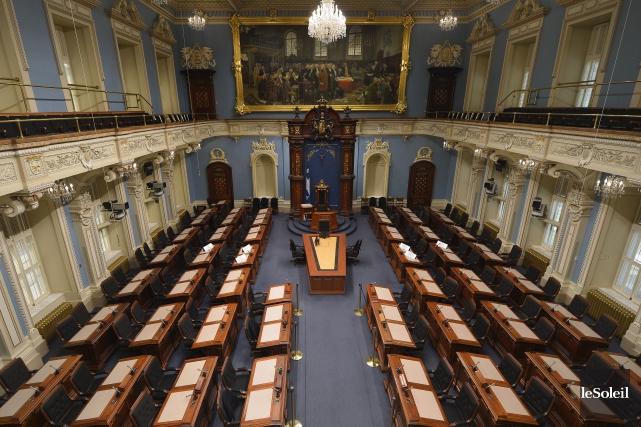 Le salaire des députés de l'Assemblée nationale est... (Photo Yan Doublet, archives Le Soleil)