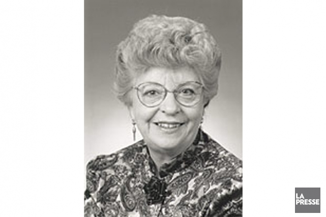Madeleine Bleau... (Photo tirée du site de l'Assemblée nationale du Québec)