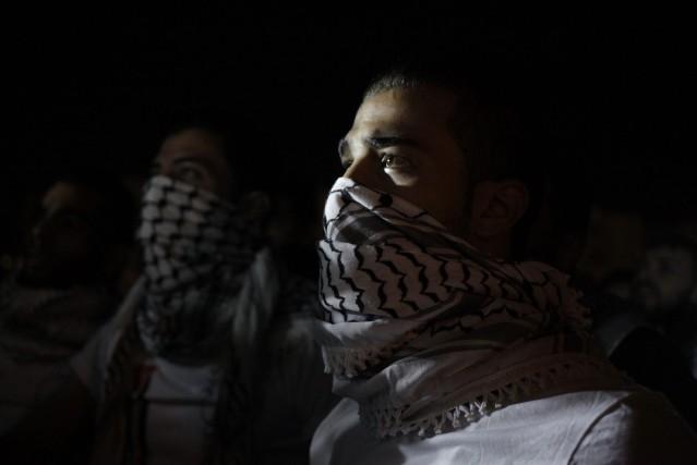 Des avions de combats israéliens ont bombardé mercredi le domicile d'un haut... (Photo Mohammad Hannon, AP)
