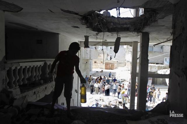 Israël a affirmé mardi n'avoir «d'autre choix» que... (Photo: AFP)