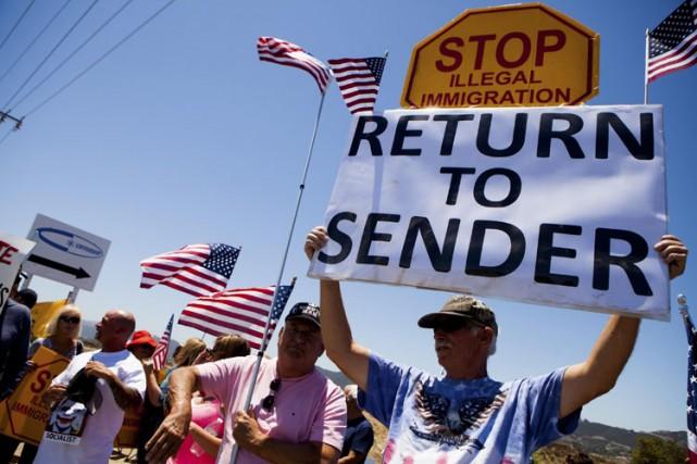 «Retournez à l'expéditeur» et «Go Home Non-Yankees», pouvait-on... (Photo: Reuters)