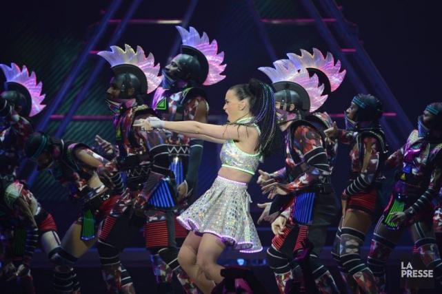 Katy Perry domine les différents palmarès depuis la... (Photothèque La Presse)