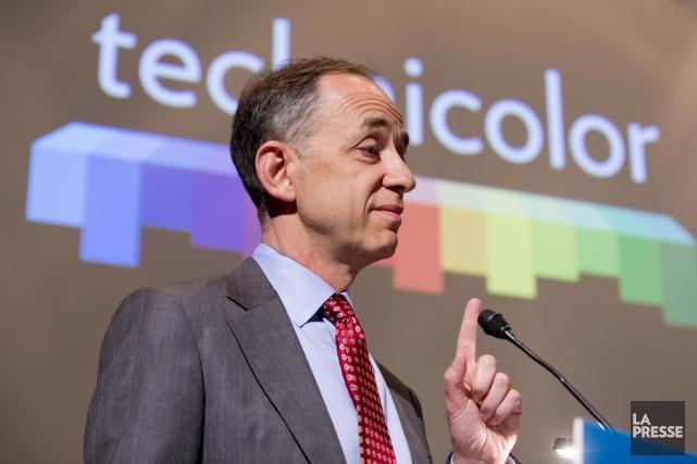 Frédéric Rose, directeur général du GroupeTechnicolor, se dit... (Photo Alain Roberge, Archives La Presse)