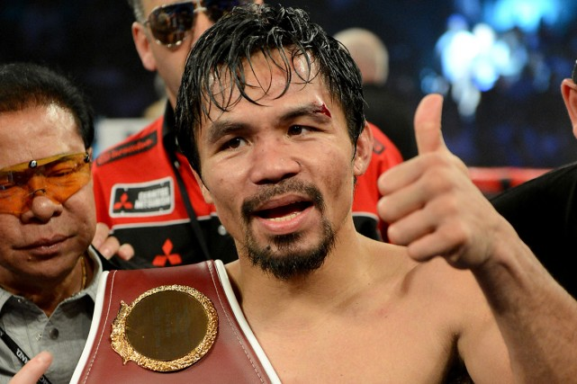 Manny Pacquiao... (Photo Kamin-Oncea, USA Today)