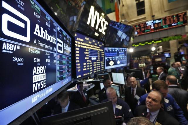 Le marché trouvait avant tout «un peu de... (PHOTO ARCHIVES AP)