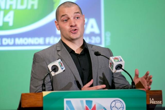 L'entraîneur-chef de l'équipe canadienne de la Coupe du... (Photo David Boily, archives La Presse)