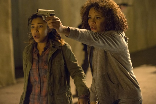 Zoe Soul et Carmen Ejogo dans The Purge:... (Photo: fournie par Universal Pictures)