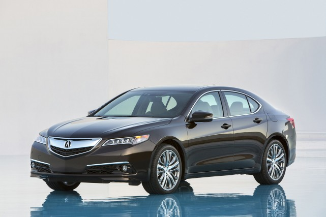 L'Acura TLX 2015... (Photo fournie par Acura)
