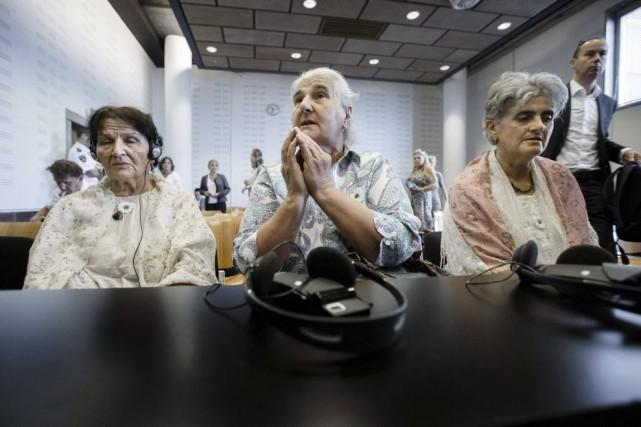 Dans la salle d'audience, le jugement a été... (Photo: AFP)