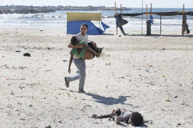 Quatre enfants ont péri et plusieurs autres ont... (Photo: The New Yok Times)