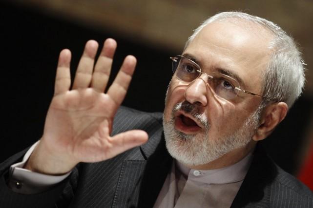 Javad Zarif,le chef de la diplomatie iranienne.... (PHOTO ARCHIVES REUTERS)