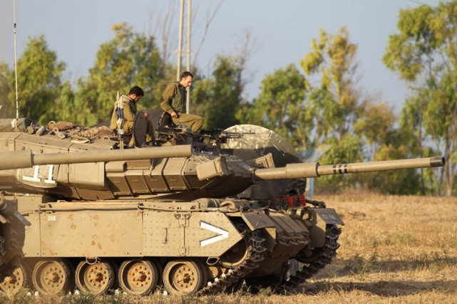 L'armée israélienne va cesser ses bombardements sur la bande de Gaza pendant... (Photo: AFP)