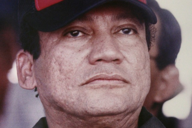 L'ancien président du Panama Manuel Noriega, en 1988.... (Photo Carlos Guardia, archives AP)