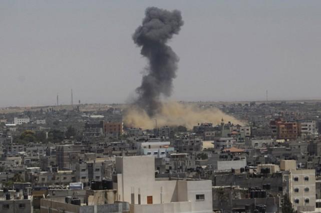 Au total 226 Palestiniens ont été tués et... (Photo: Reuters)