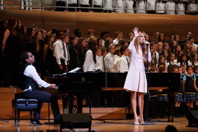 Céline Dion était à la maison symphonique, avec... (Photo Ulysse Lemerise, collaboration spéciale)