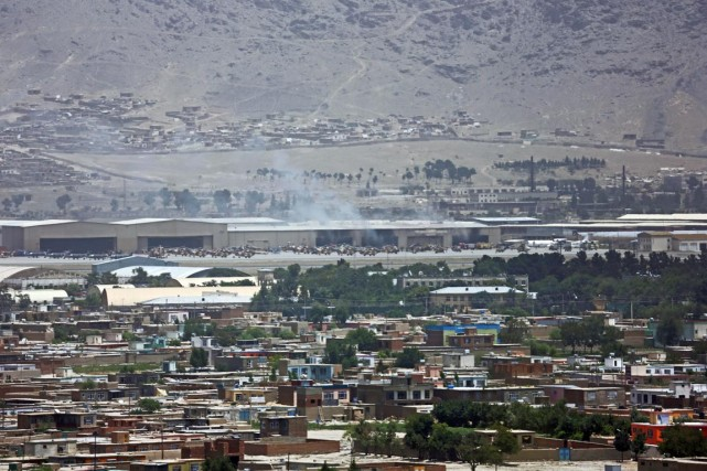 Le 3 juillet (photo), trois roquettes avaient été... (Photo Rahmat Gul, archives AP)