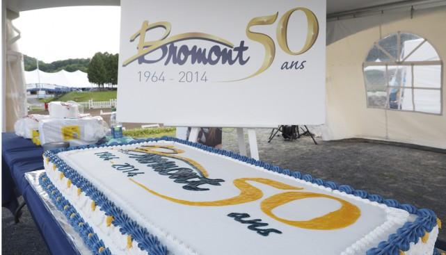 Les festivités du 50e anniversaire de la Ville de Bromont se sont poursuivies... (Photo Maxime Sauvage)